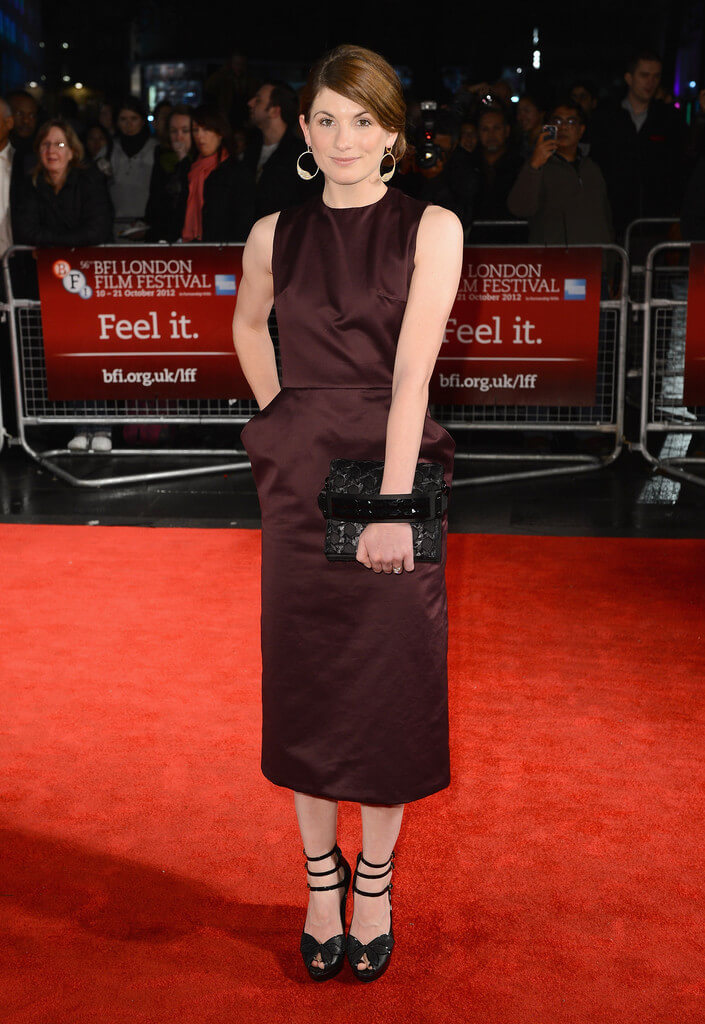 Jodie Whittaker hot feet