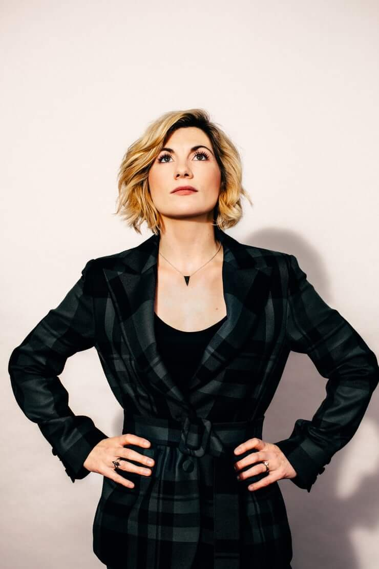 Jodie Whittaker hot sexy dress