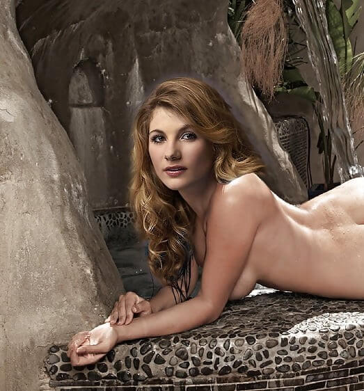 Jodie Whittaker near nude