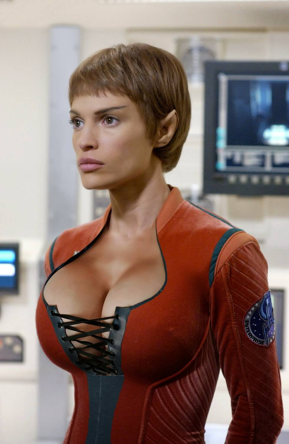 Jolene blalock cleavage photo