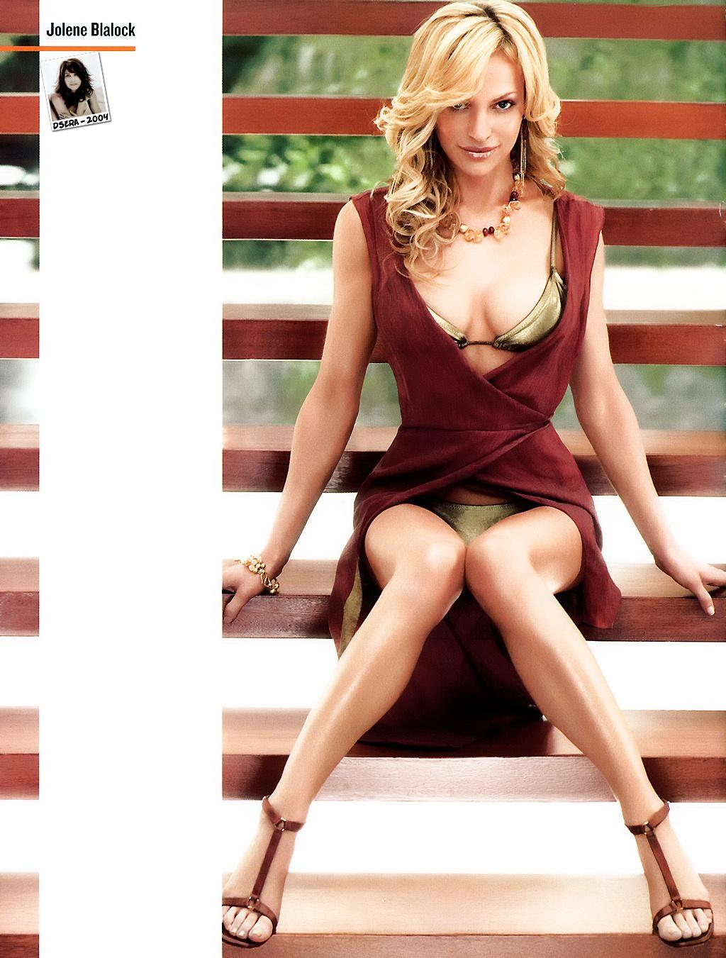 Jolene blalock hot cleavage