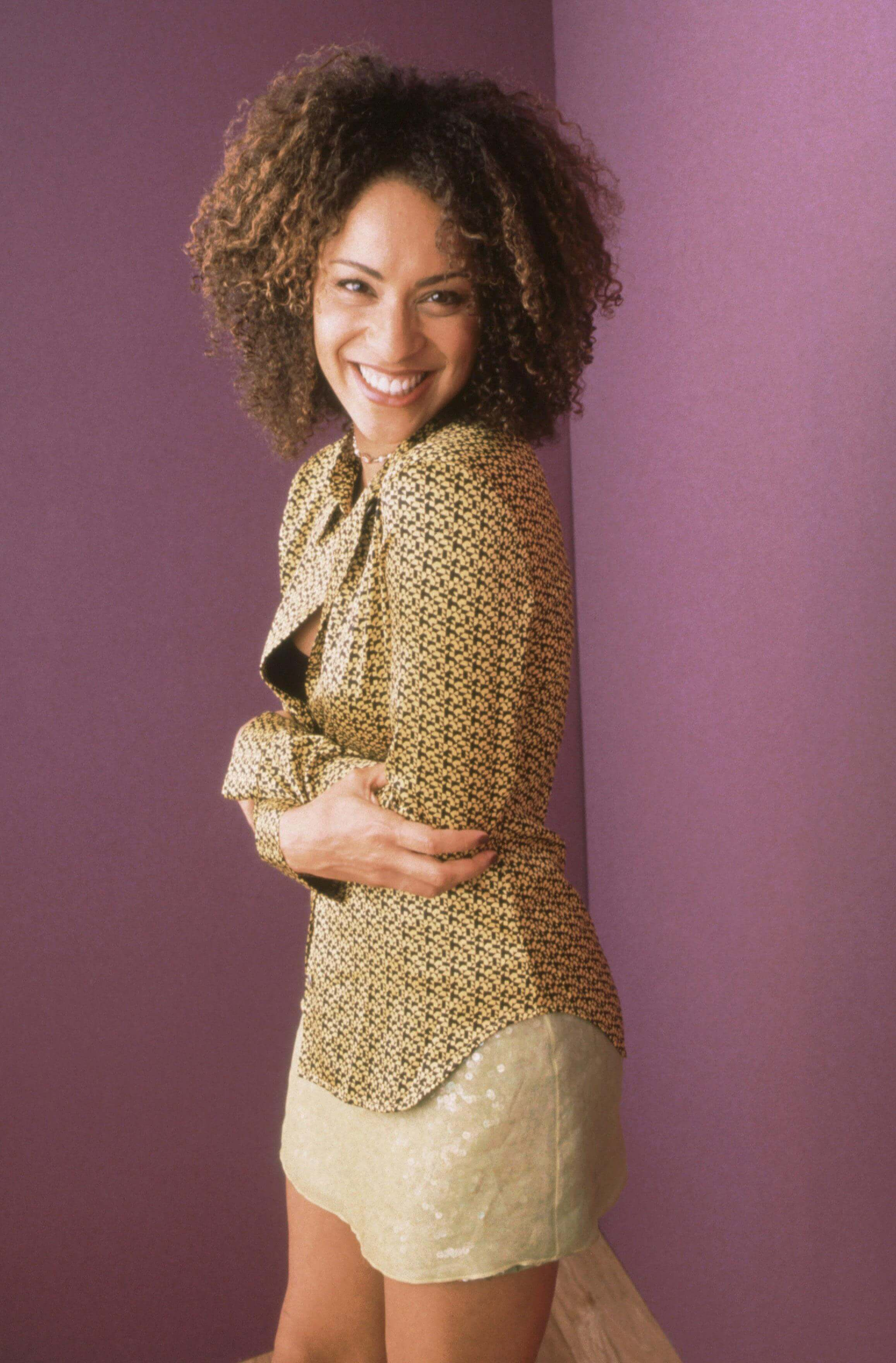 Karyn Parsons awesome smile