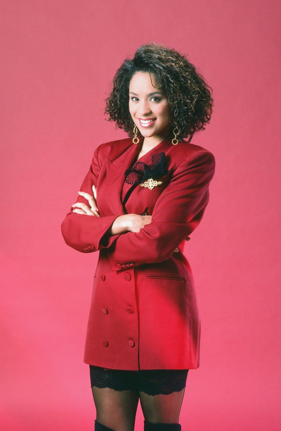 Karyn Parsons sexy red jacketKaryn Parsons sexy red jacket