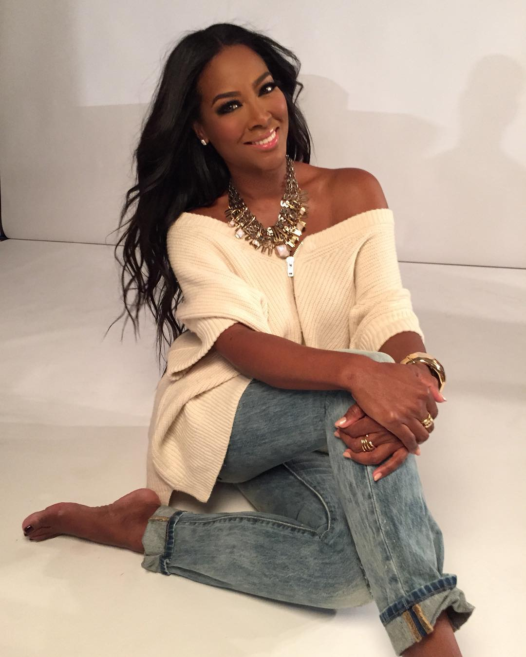 Kenya Moore Hot in Jeans