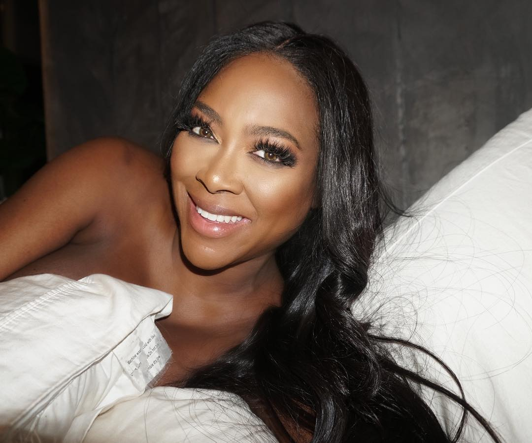 Kenya Moore on Photoshoot