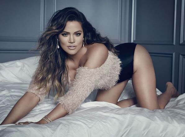 Khloe Kardashian lingerie sexy cleavages