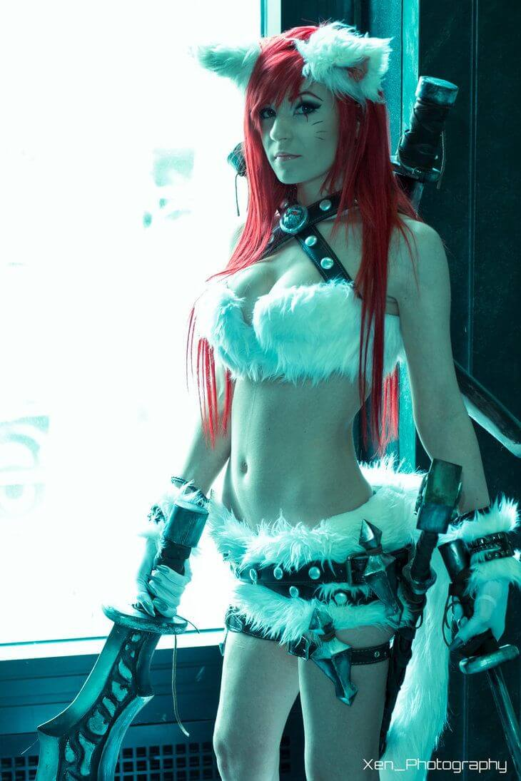 Kitty Cat Katarina hot side picture