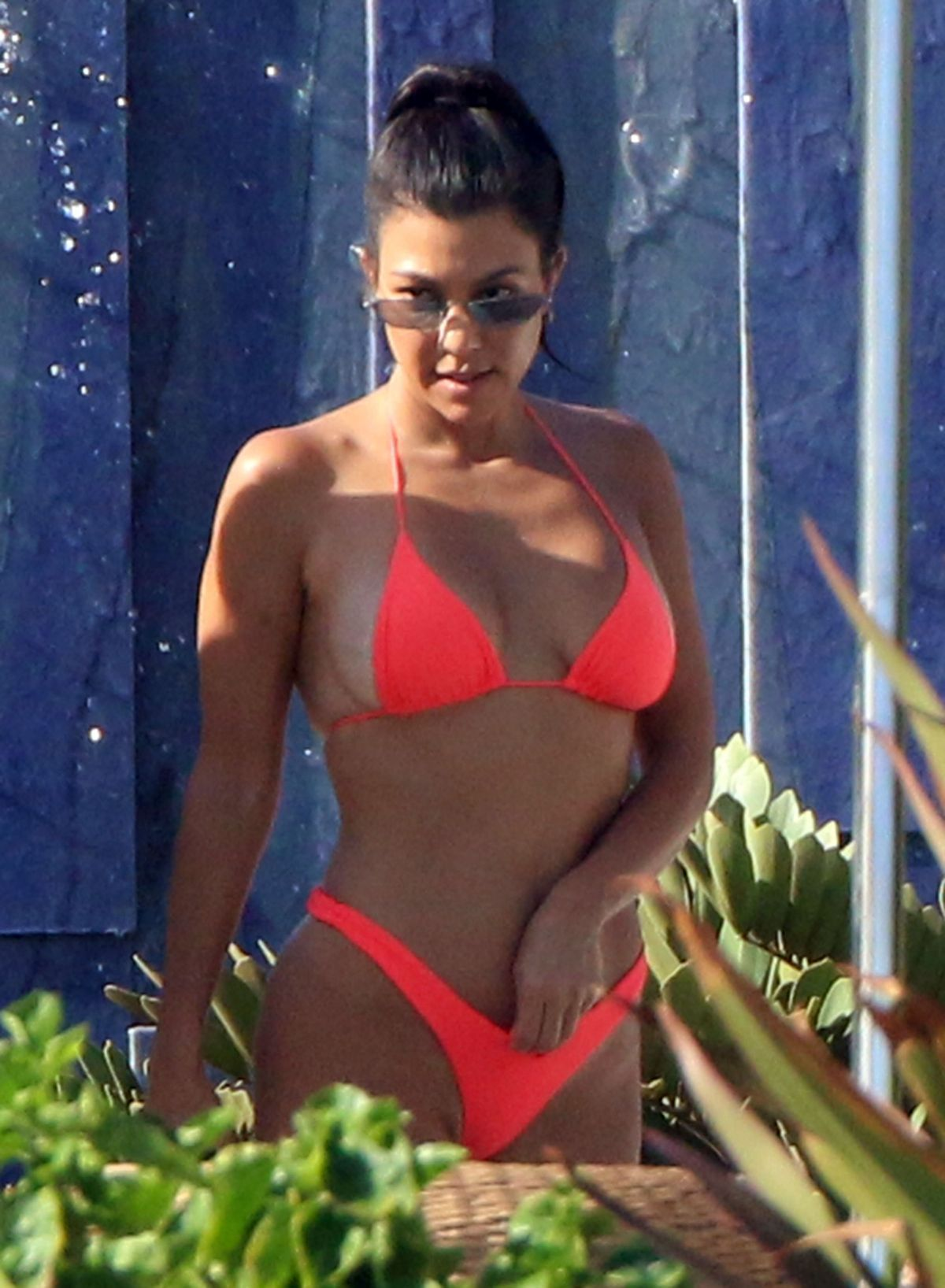 49 Hottest Kourtney Kardashian Lingerie Pictures Expose Her Sexy ...