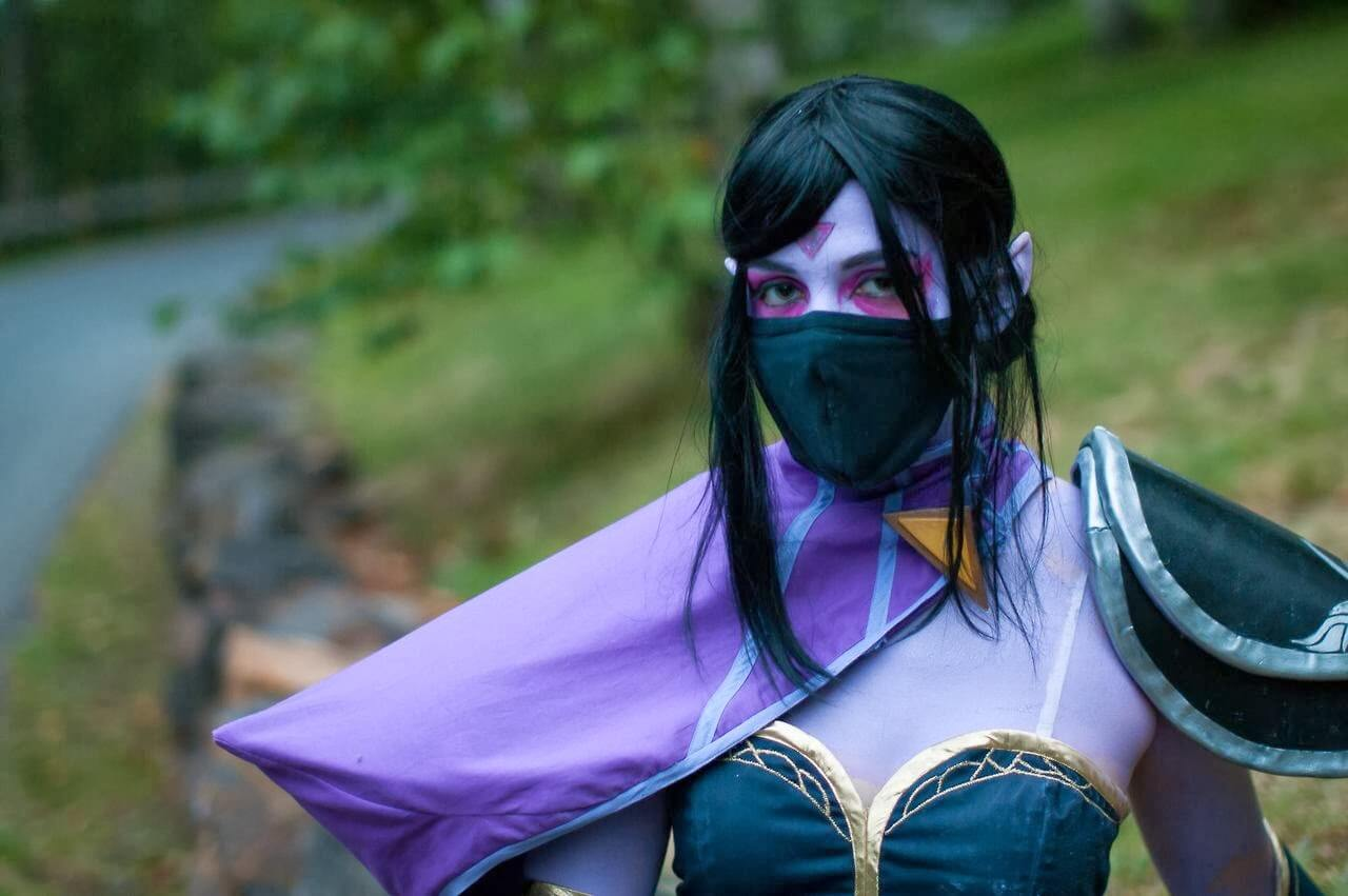 Lanaya Templar Assassin Lanaya Templar Assassin sexy look picture