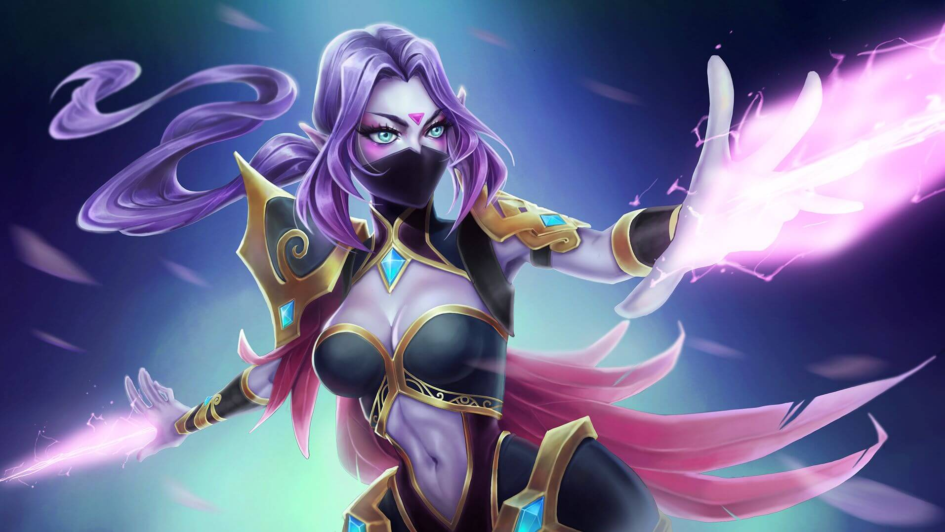 Lanaya Templar Assassin cleavage pictures