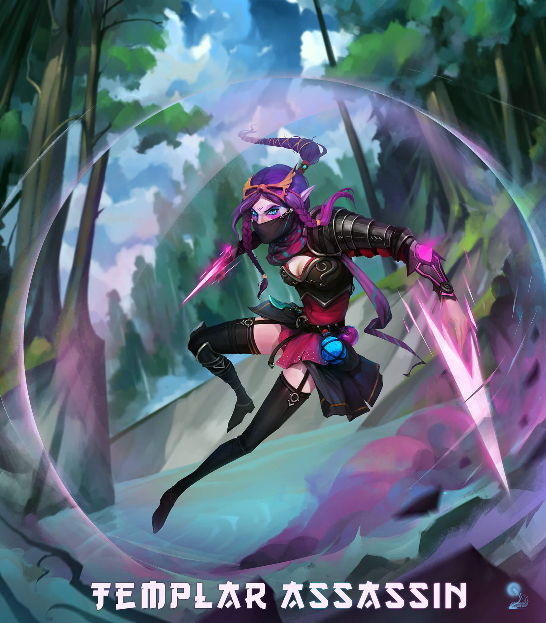 Lanaya Templar Assassin hot