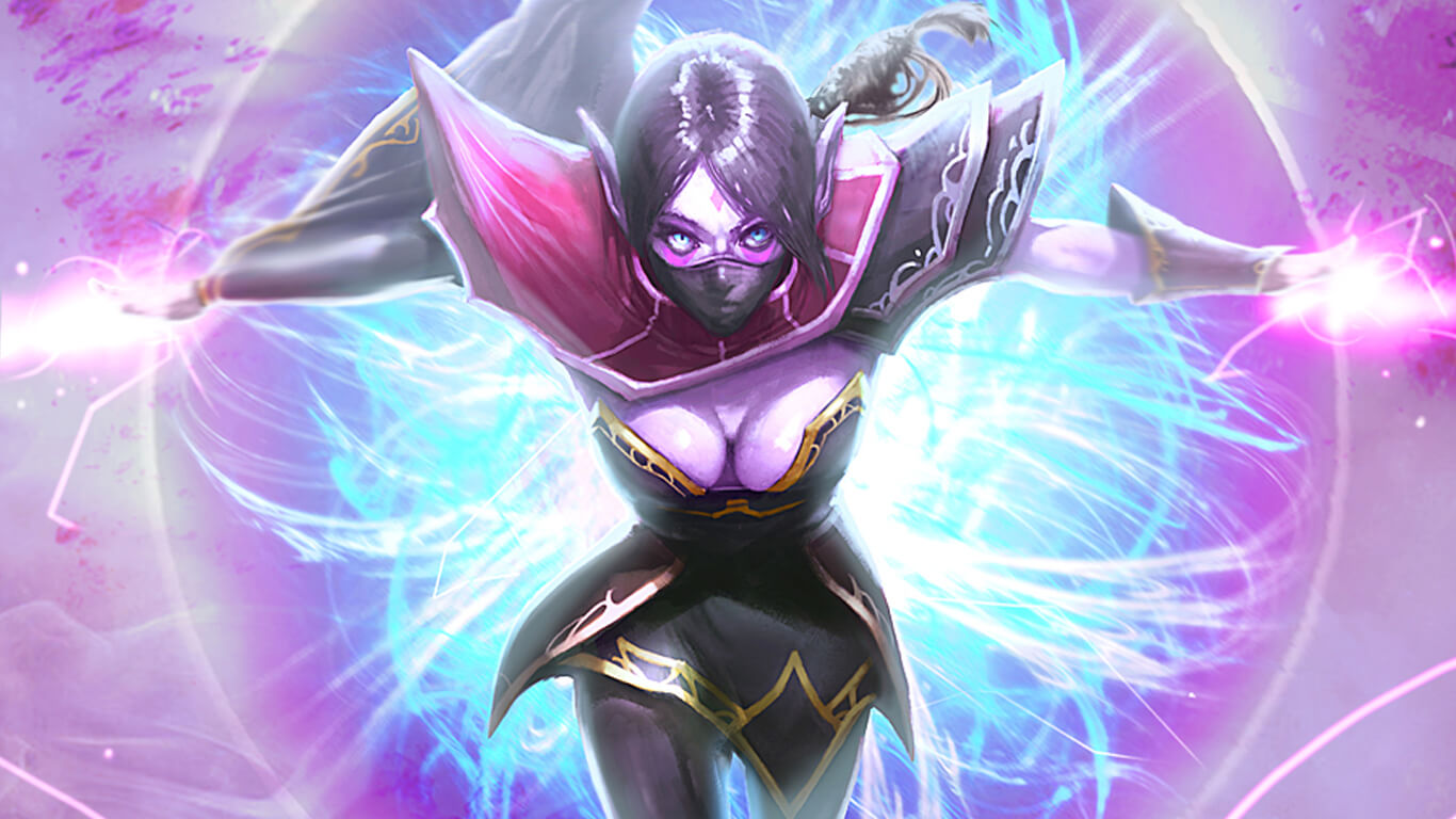 Lanaya Templar Assassin hot cleavage photos