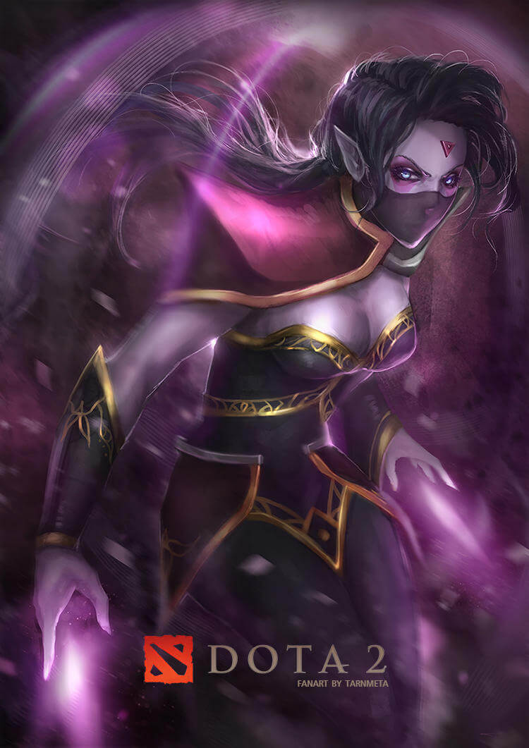 Lanaya Templar Assassin hot look