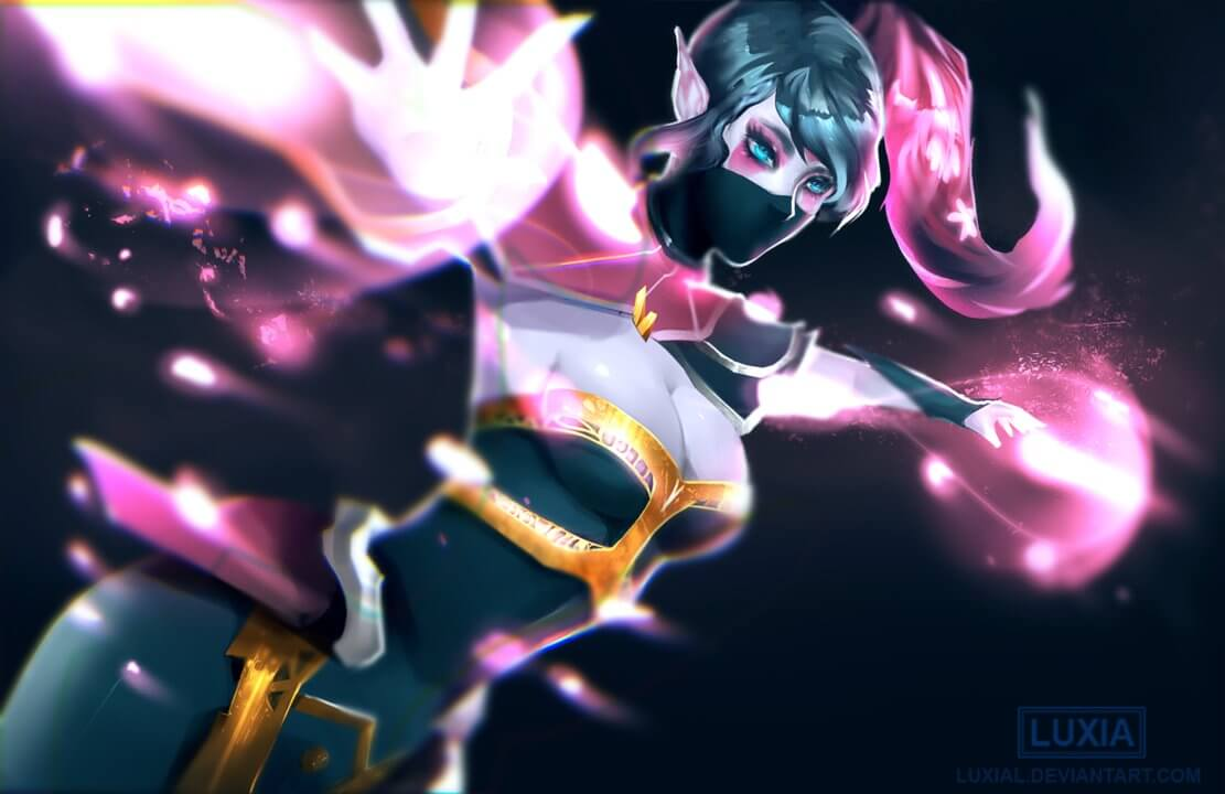 Lanaya Templar Assassin hot look photo