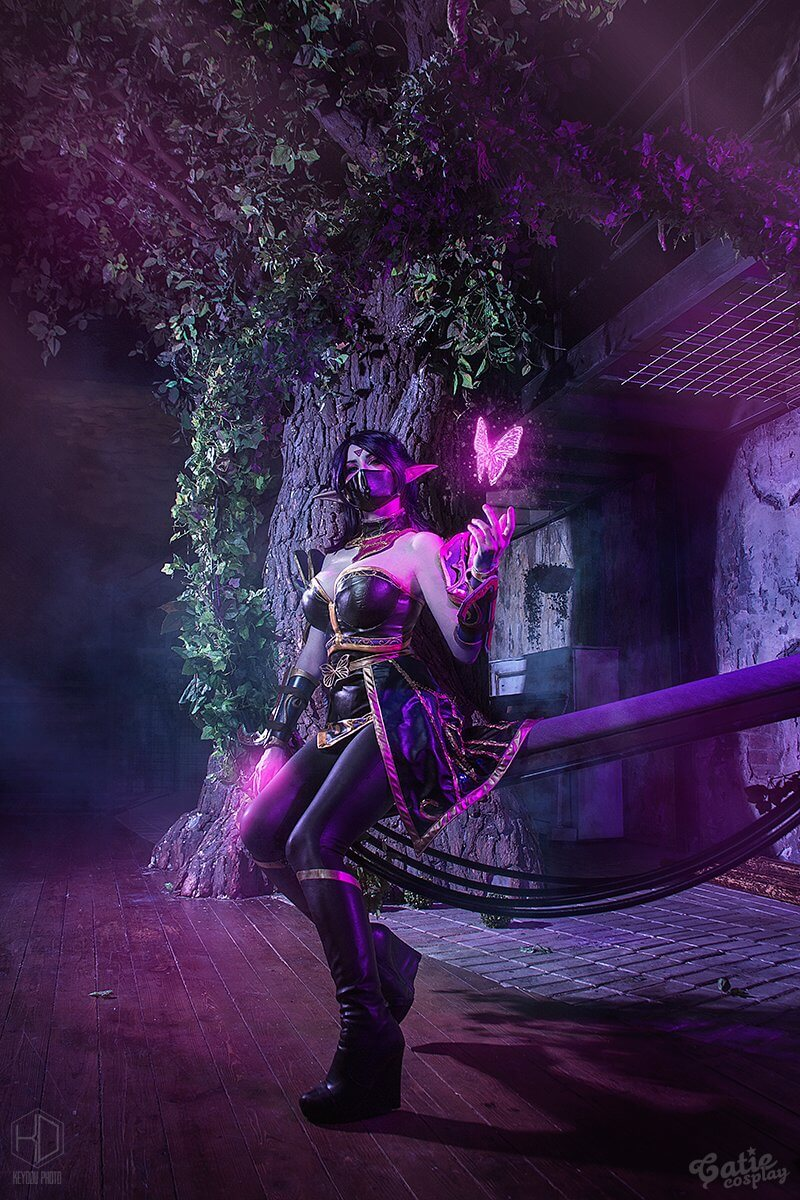 Lanaya Templar Assassin hot look picture