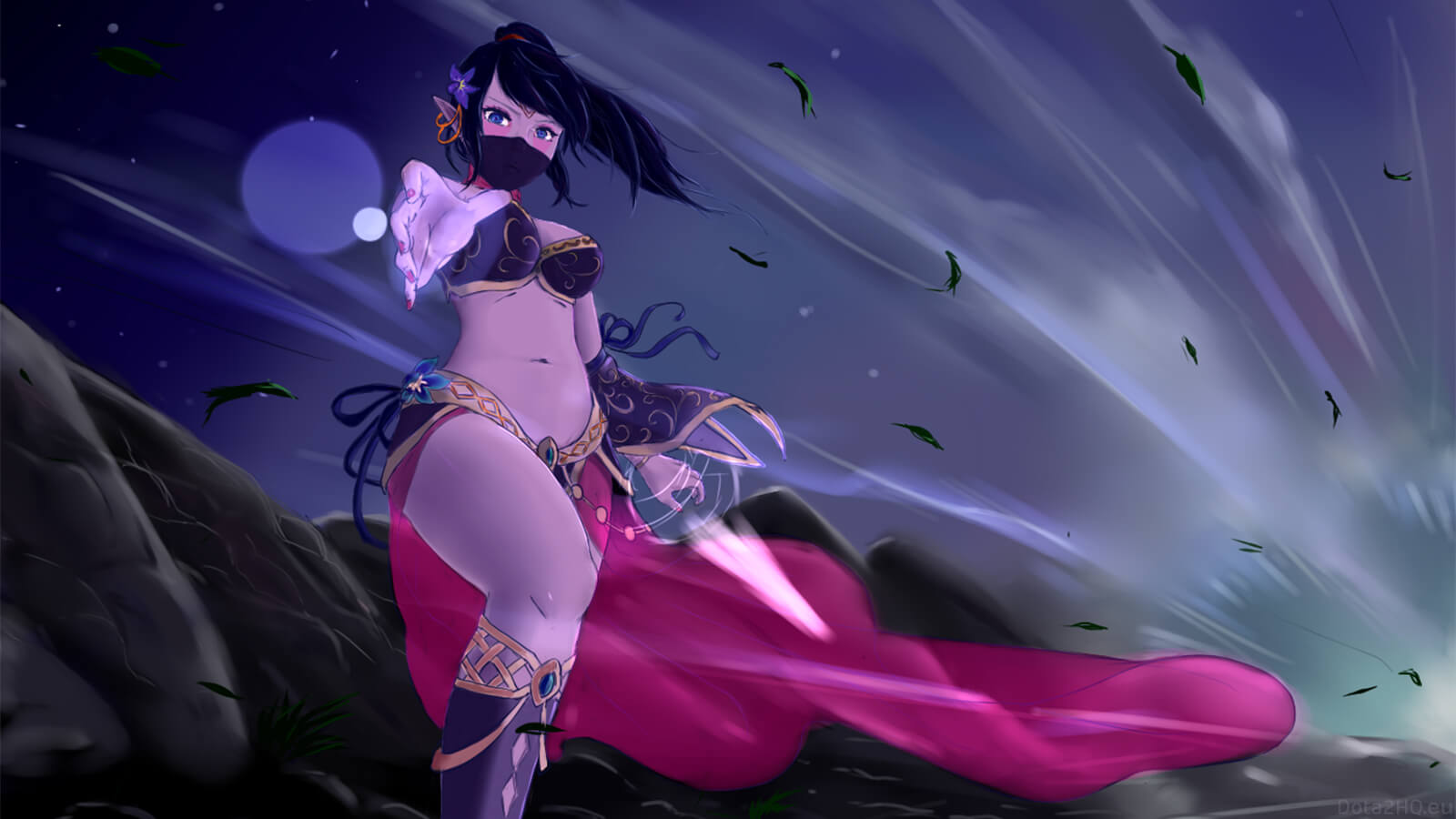 Lanaya Templar Assassin hot loook pic
