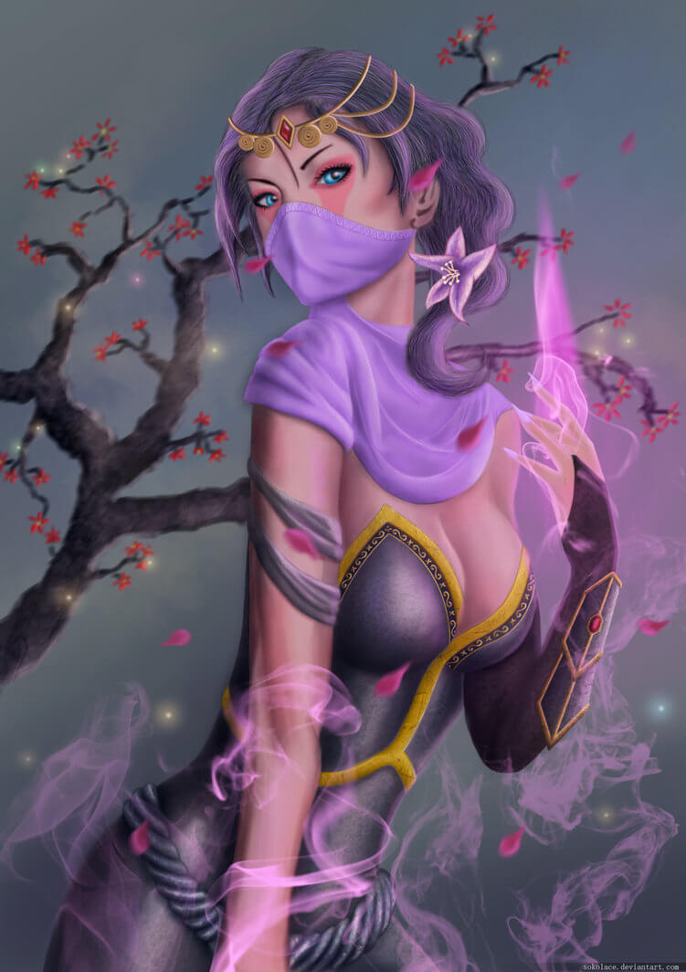 Lanaya Templar Assassin hot picture