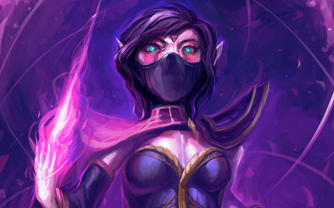Lanaya Templar Assassin sexy look pics