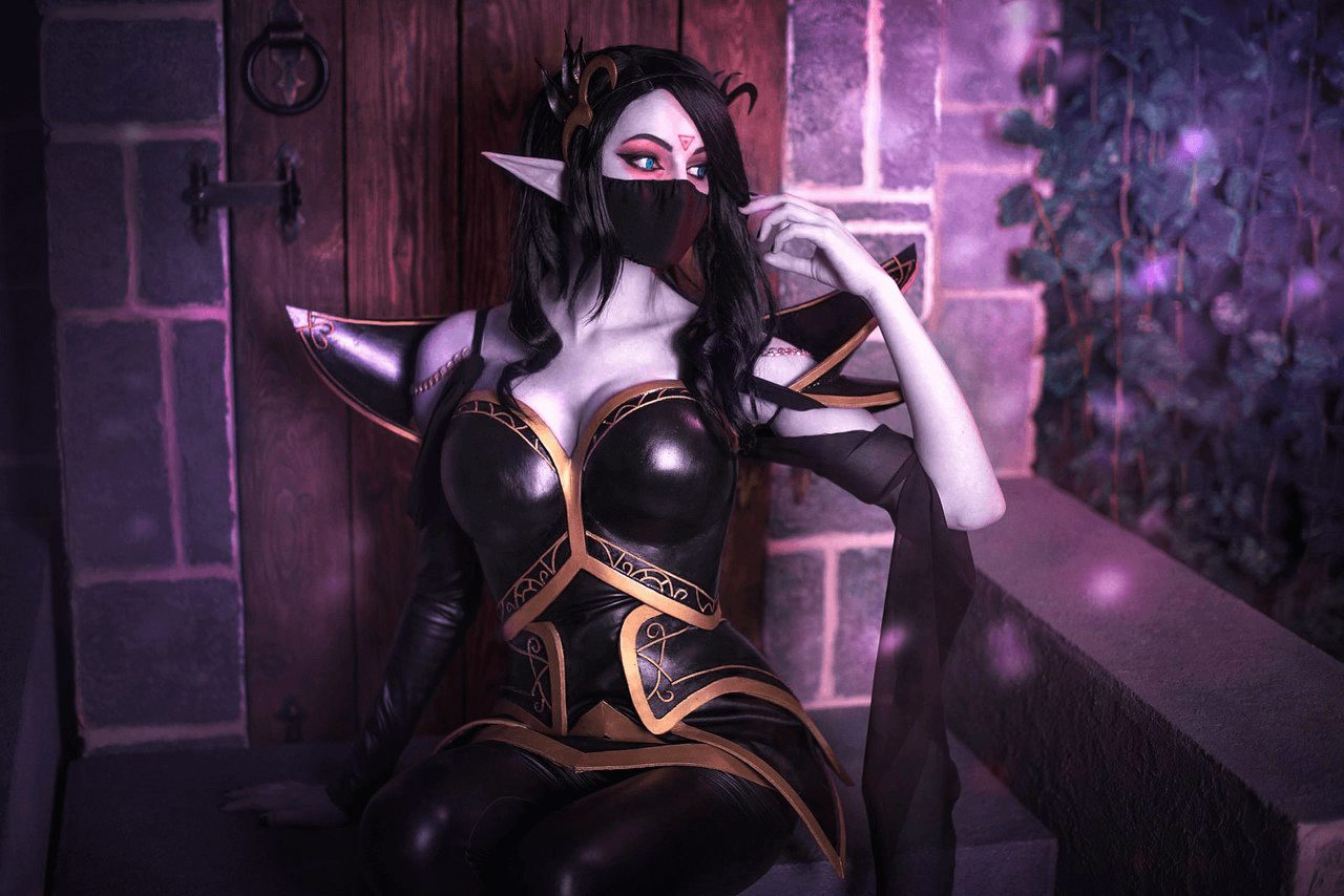 Lanaya Templar Assassin sexy photos
