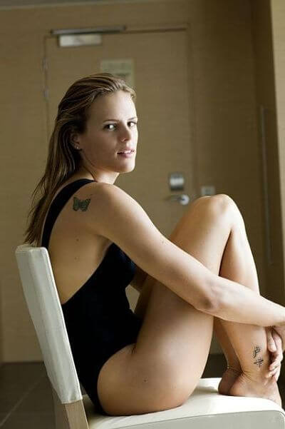 Laure Manaudou ass feet