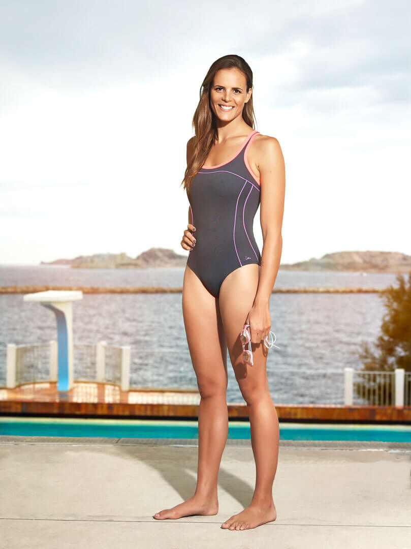 Laure Manaudou awesome swimsuit