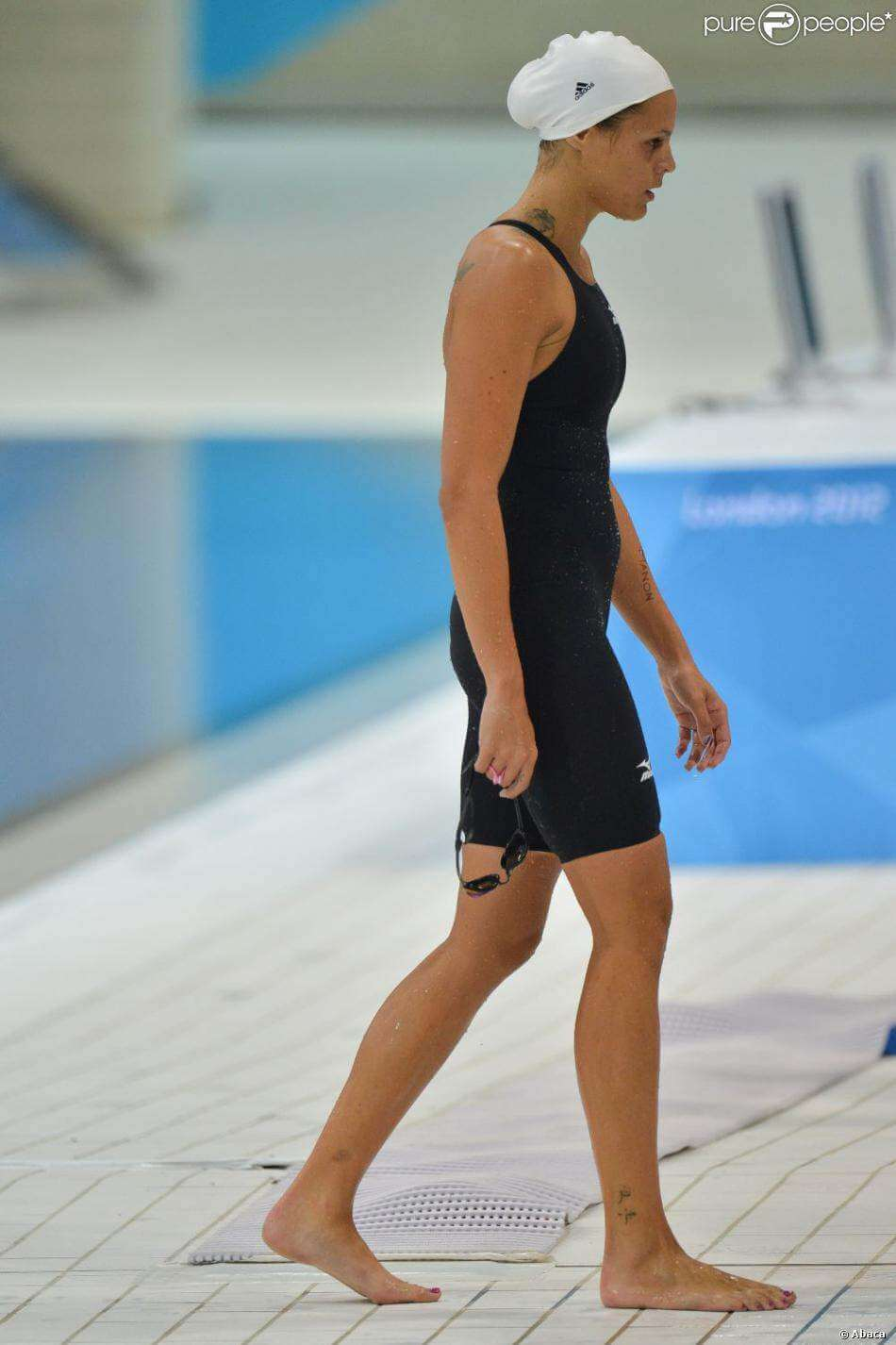 Laure Manaudou feet awesome