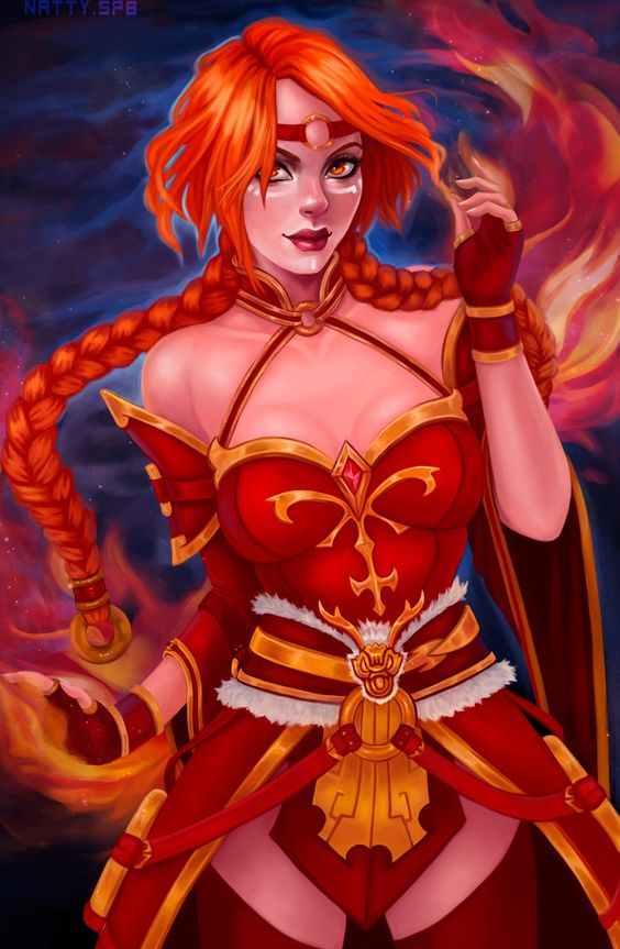 Lina Anime Photo