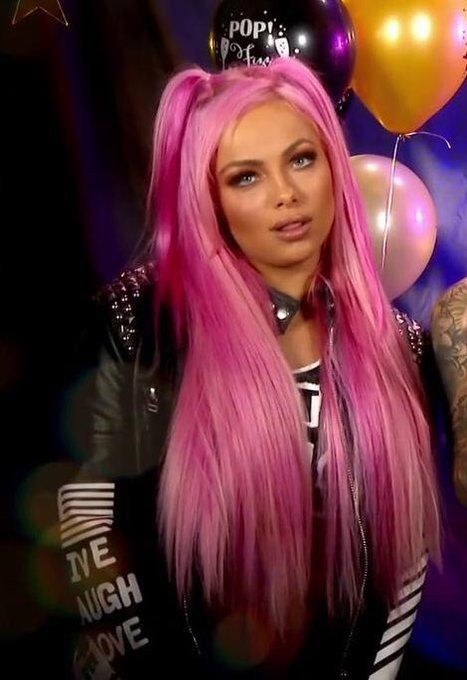 Liv Morgan Pink Hair