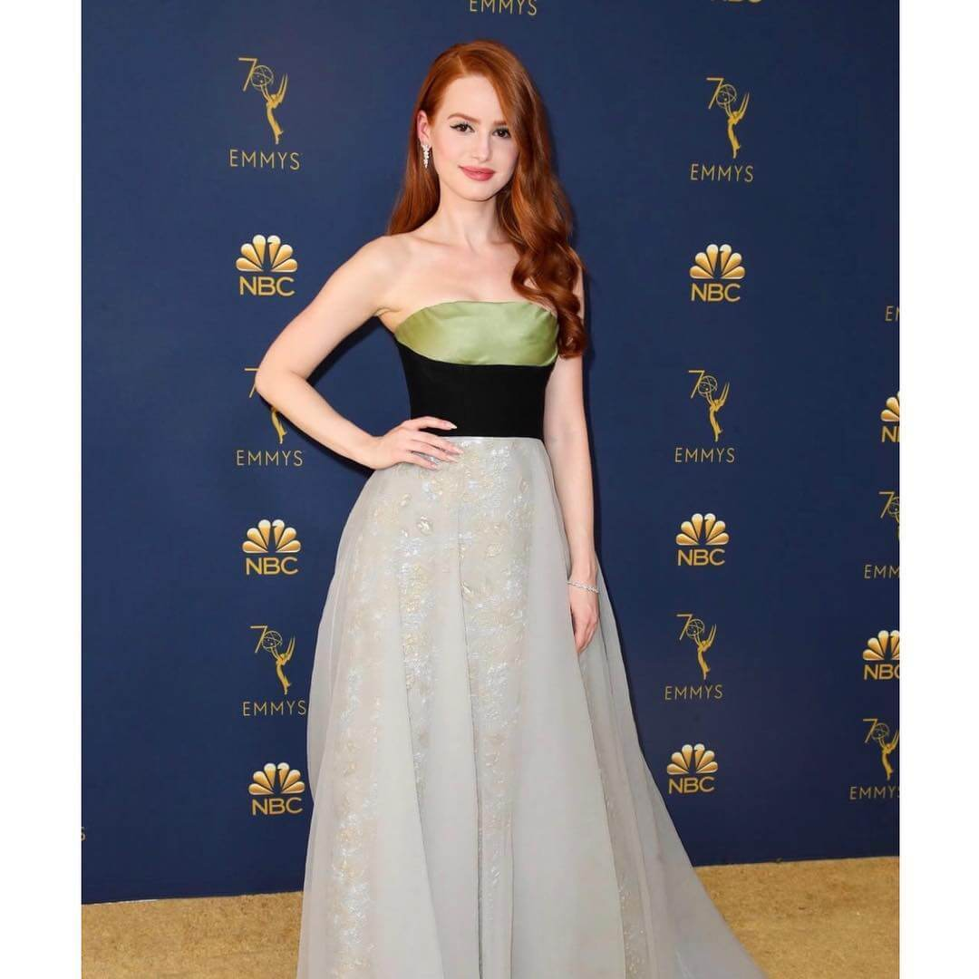 Madelaine Petsch awesome dress