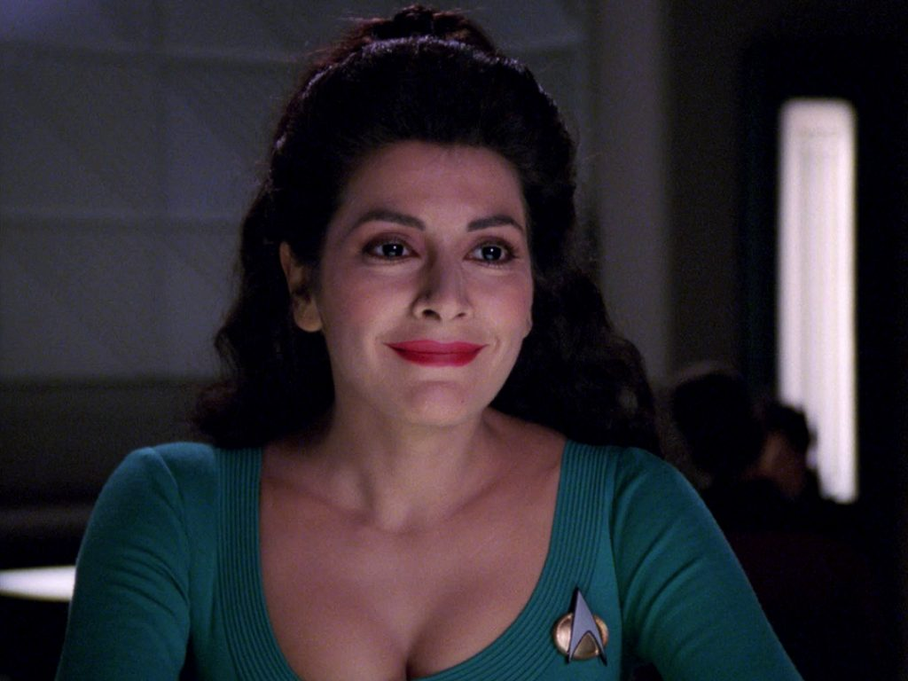 Marina Sirtis awesome