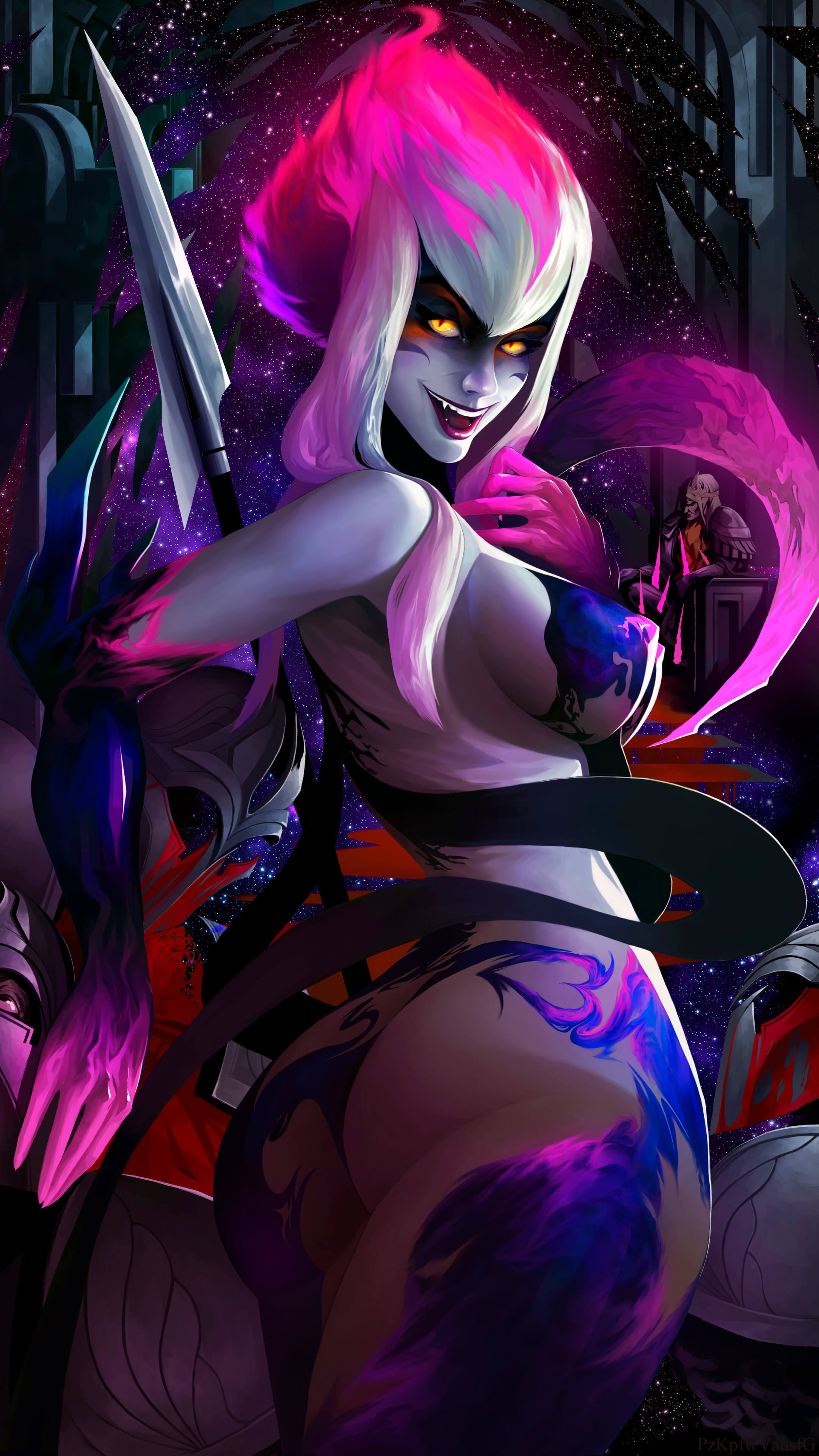 Masquerade Evelynn hot busty