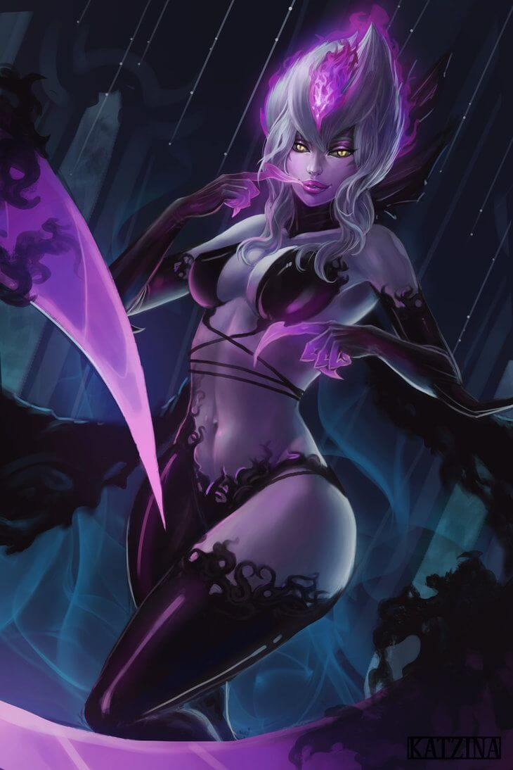 Masquerade Evelynn hot photo