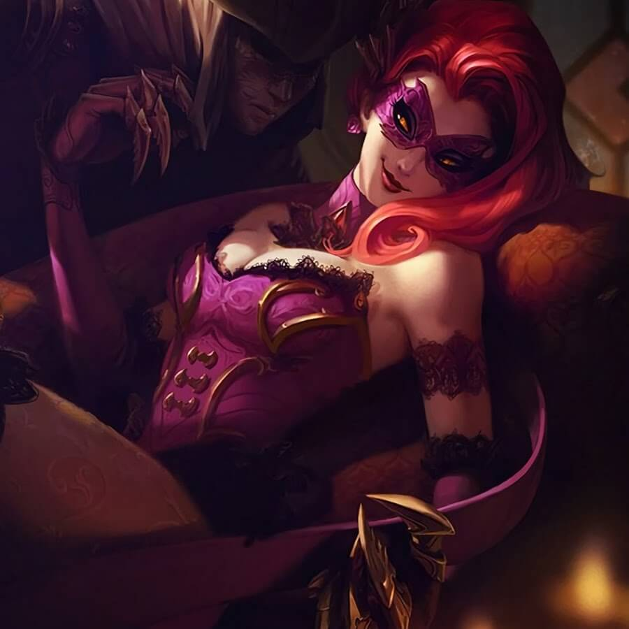 Masquerade Evelynn hot pics