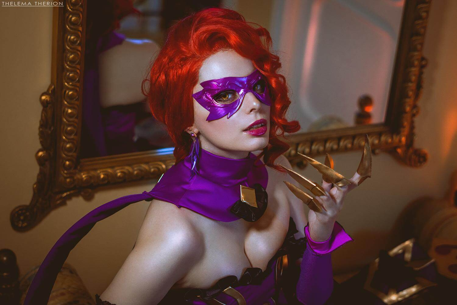 Masquerade Evelynn hot picture (2)
