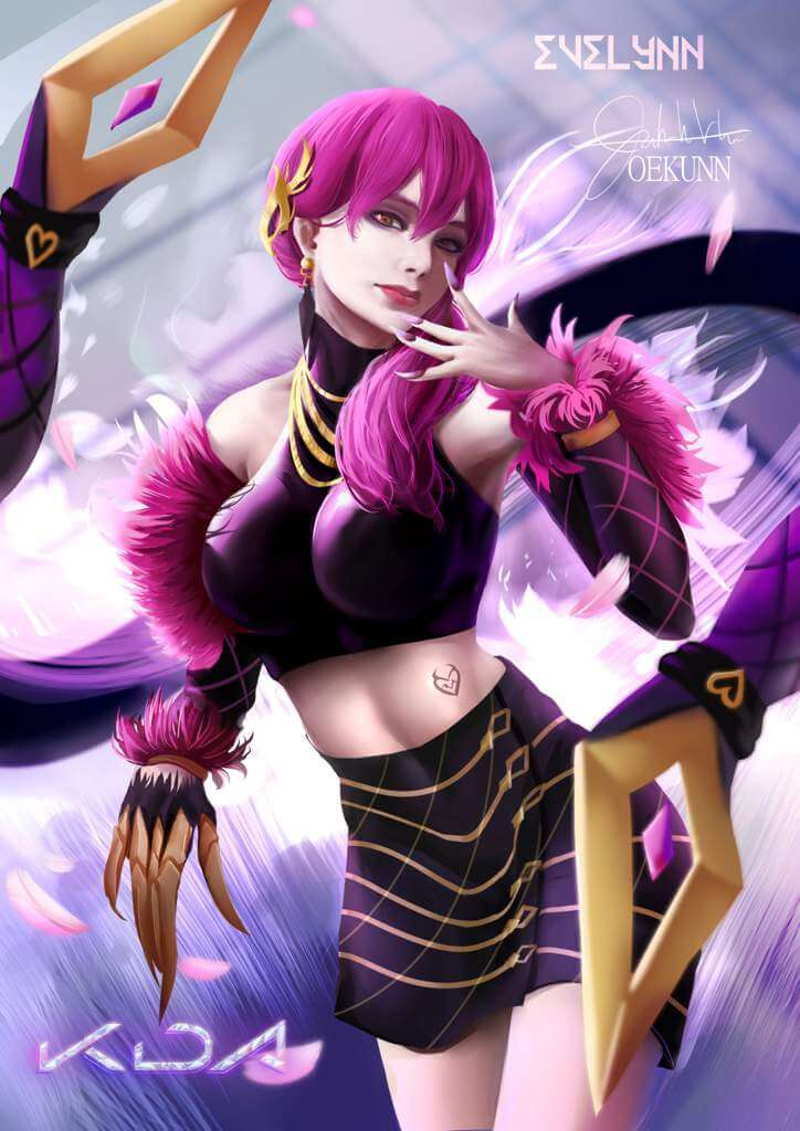 Masquerade Evelynn hot pictures (2)