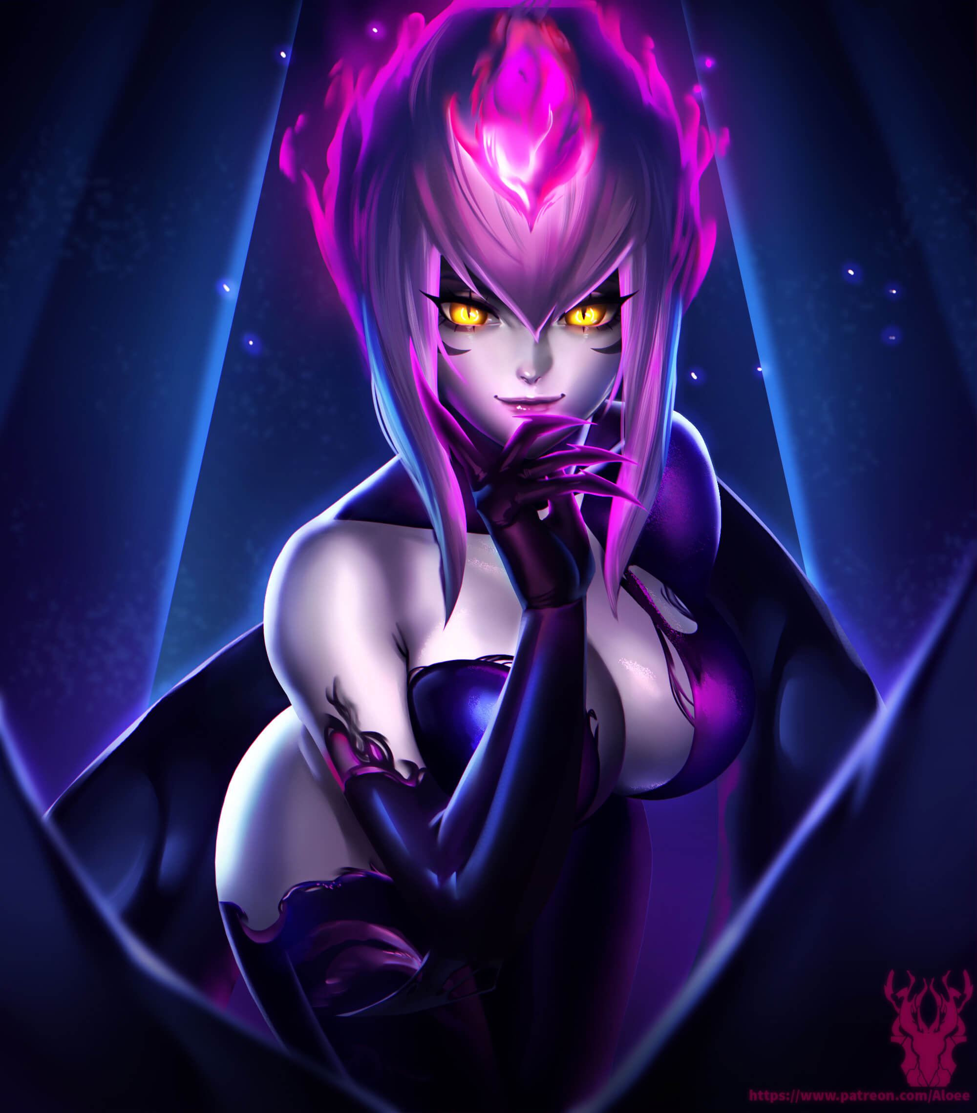 Masquerade Evelynn sexy boobs
