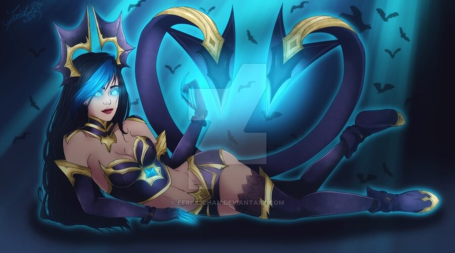 Masquerade Evelynn sexy photo (2)