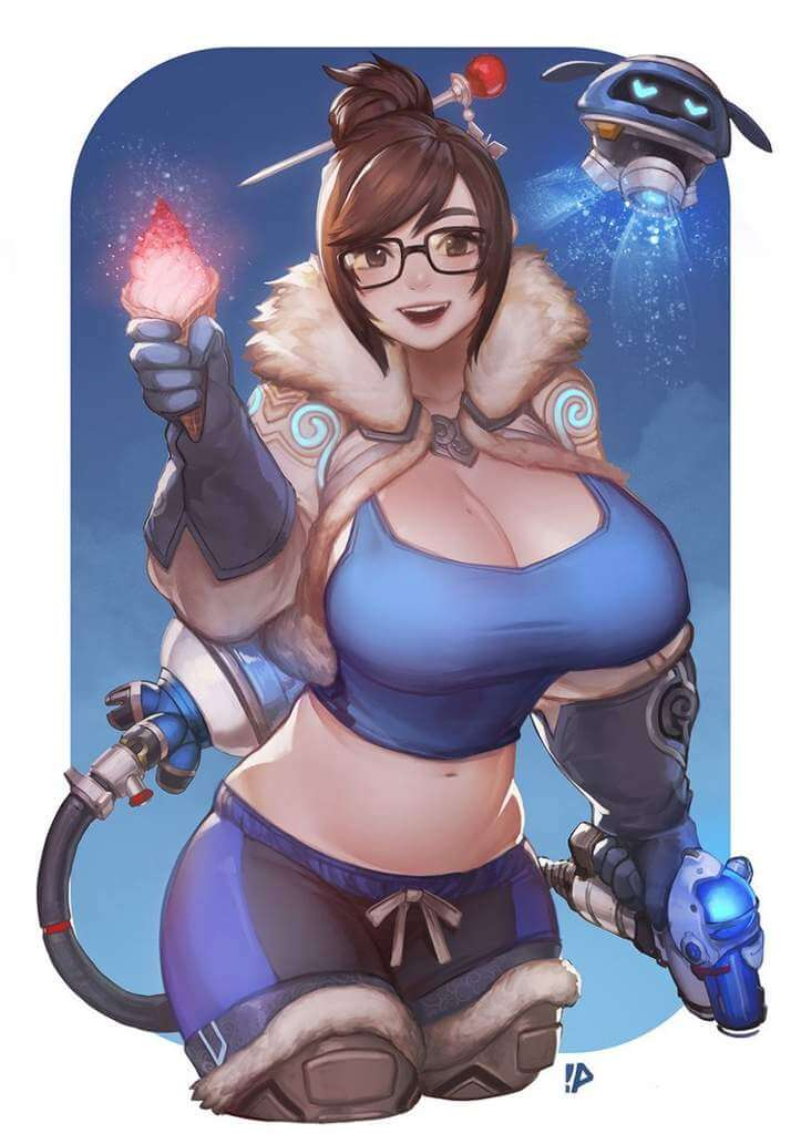 Mei Overwatch awesome pic