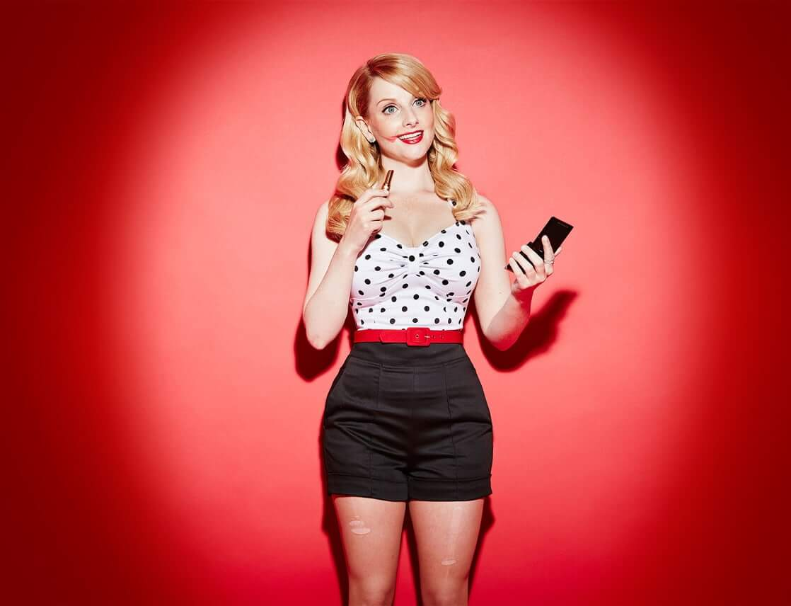 Melissa Rauch awesome photo