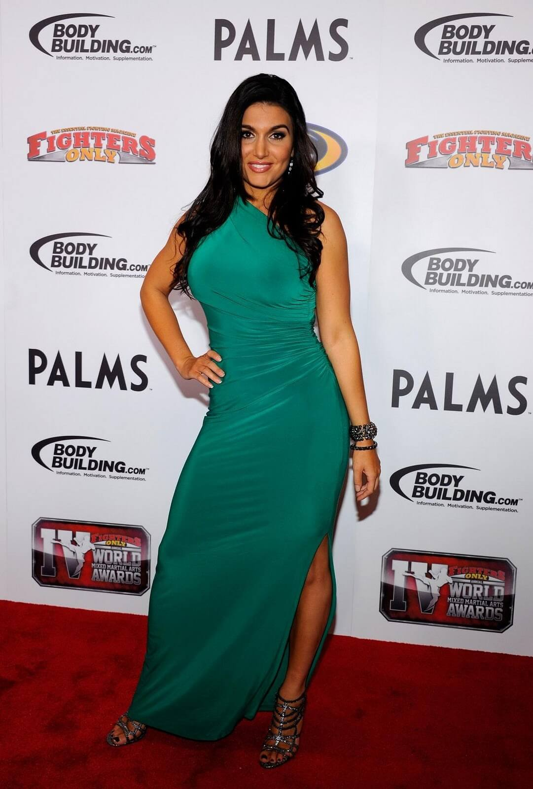 Molly Qerim green sexy