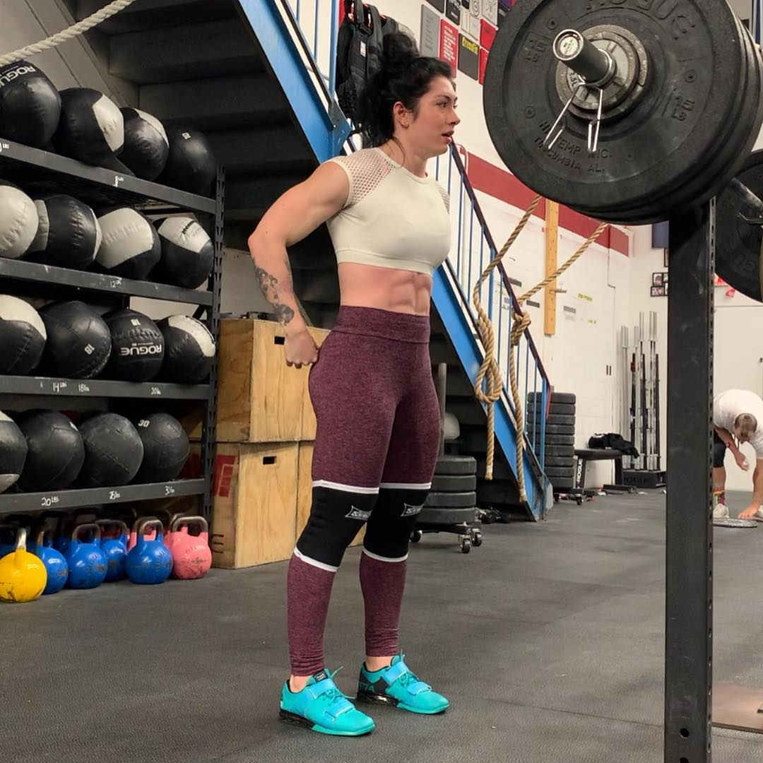 Natasha Aughey on Workout