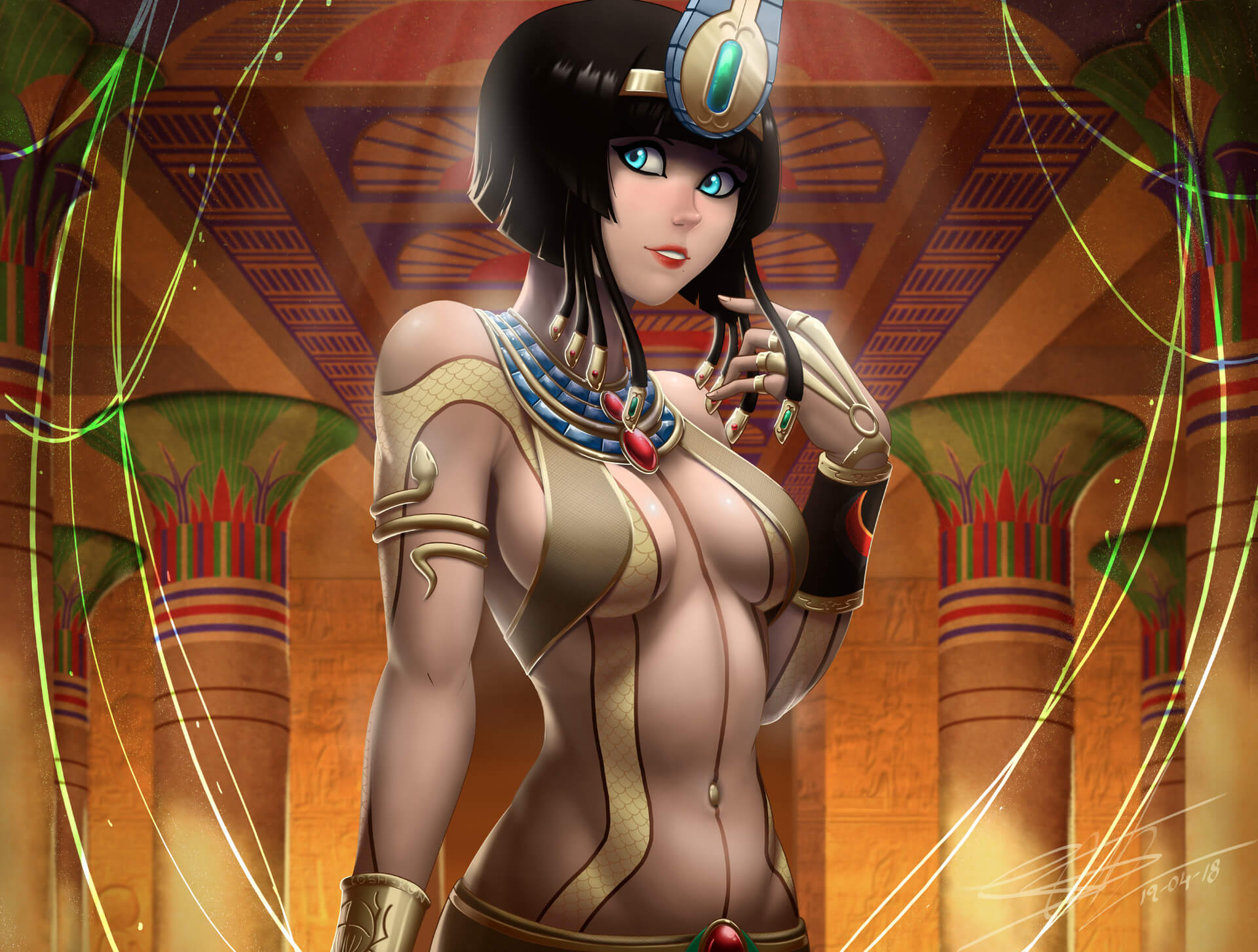 Neith Smite hot busty pic