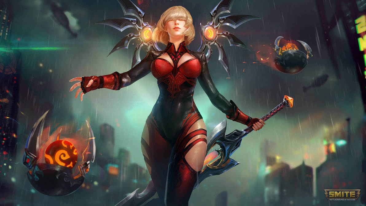 Nemesis Smite awesome pics