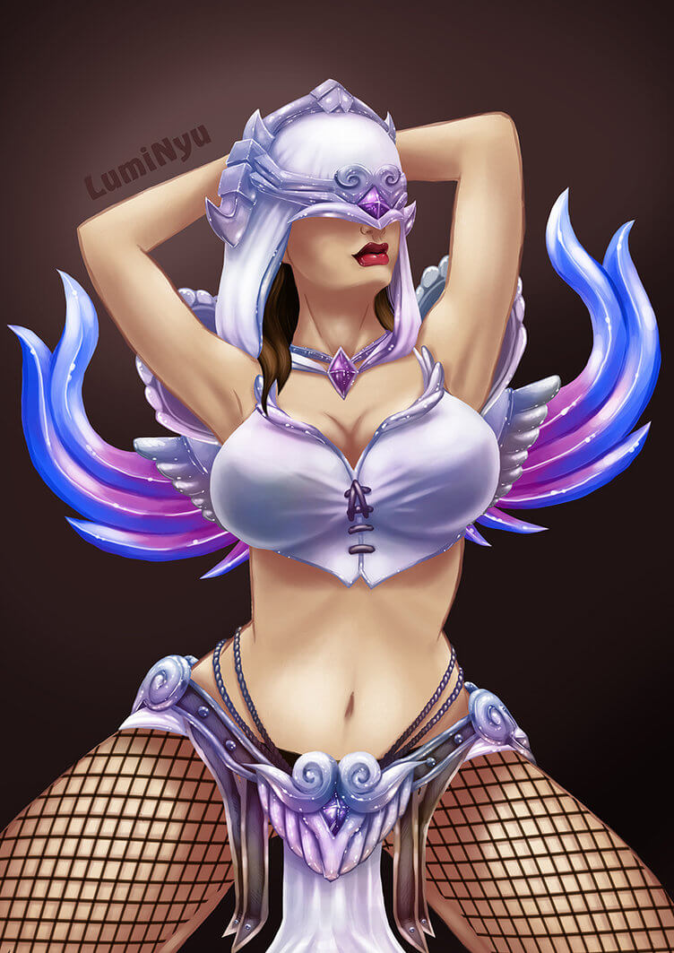 Nemesis Smite hot bsuty pictures