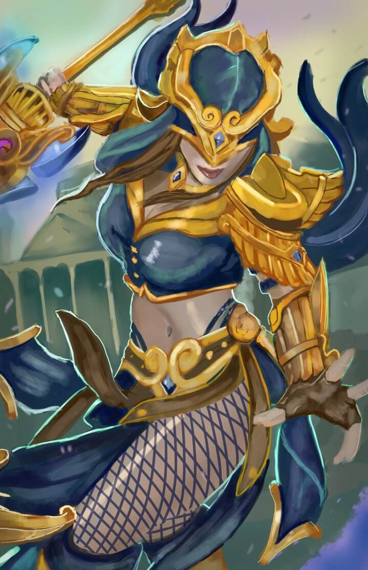 Nemesis Smite sexy boobs