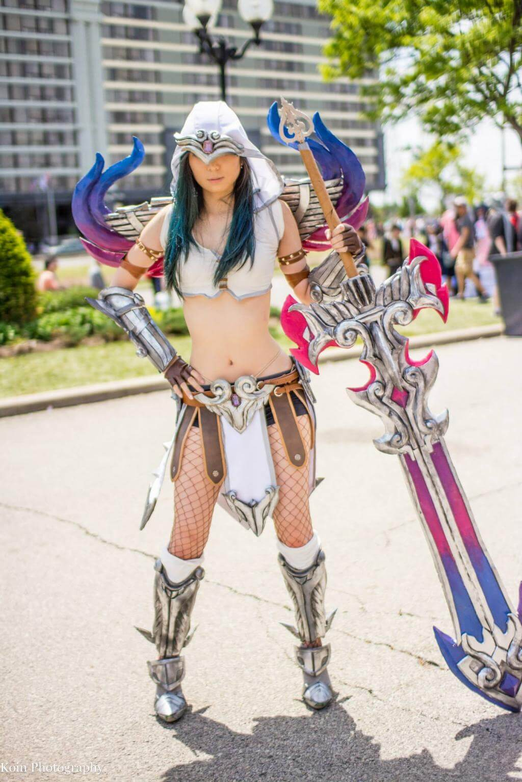 Nemesis Smite sexy cleavages (2)