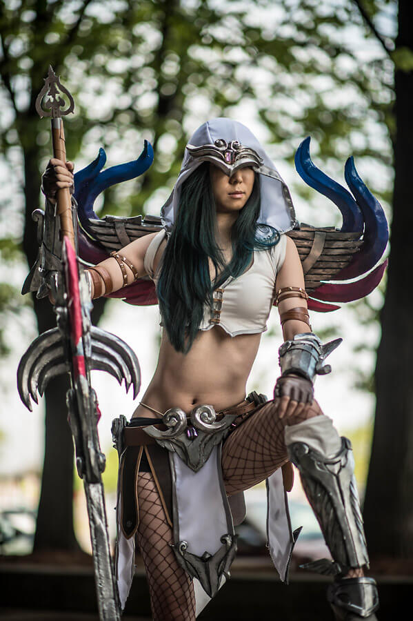 Nemesis Smite sexy cleavages pictures