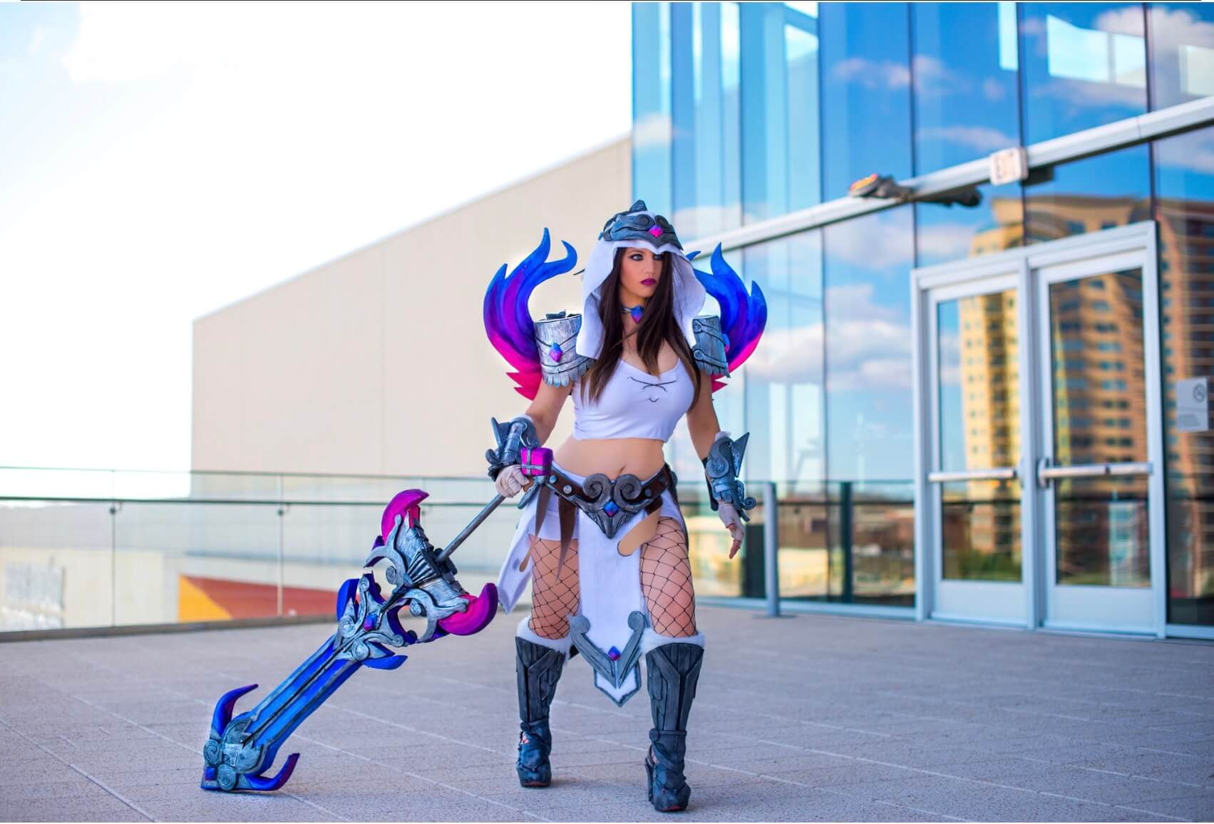 Nemesis Smite sexy photos