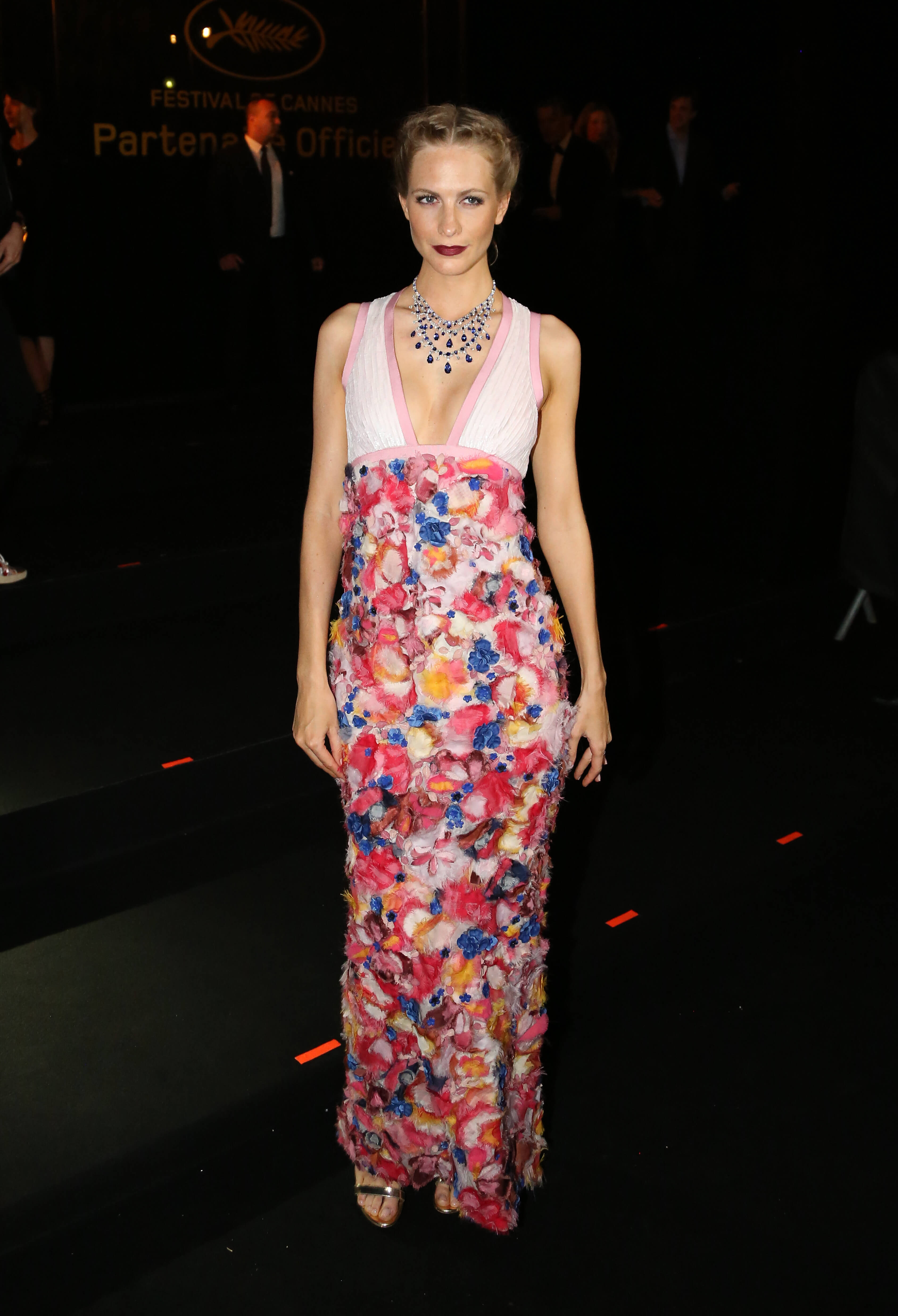 Poppy Delevingne long dress pic
