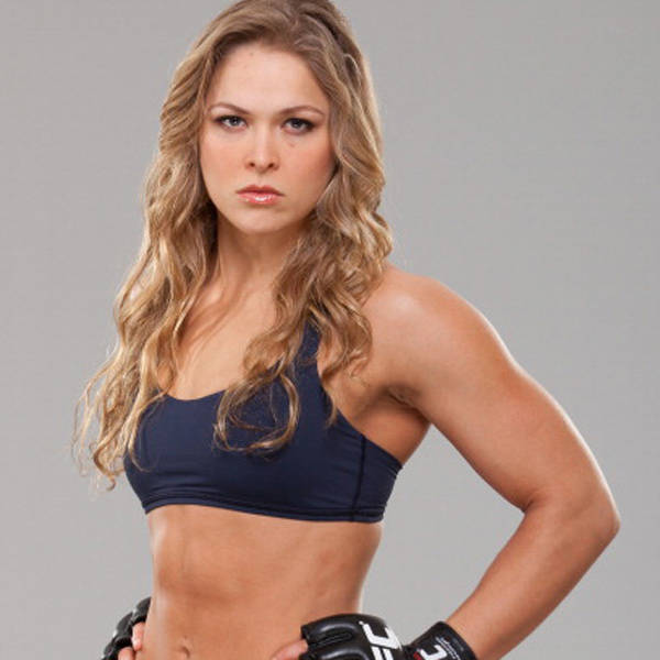 Ronda Rousey on Photoshoot